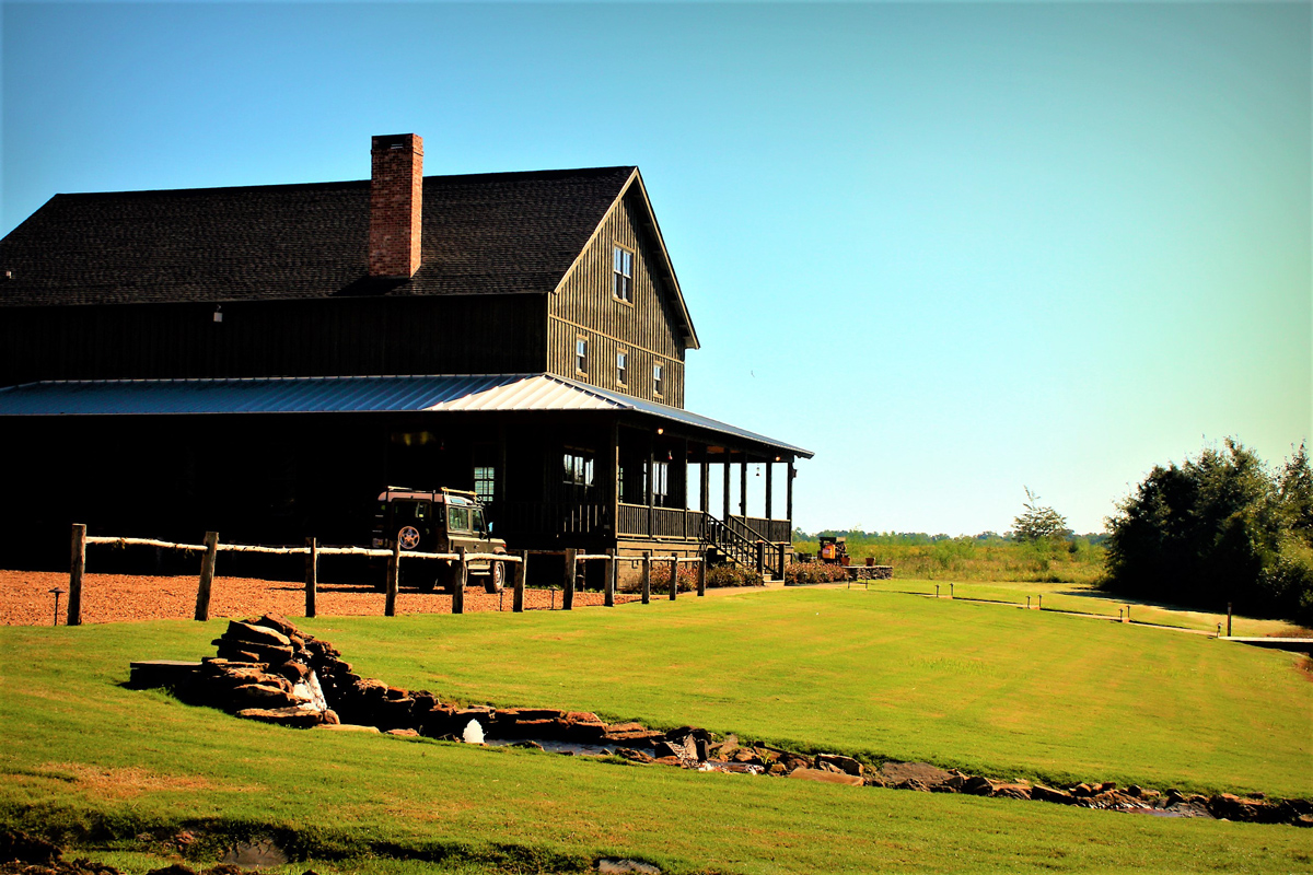 Lodge at prairie wildlife
