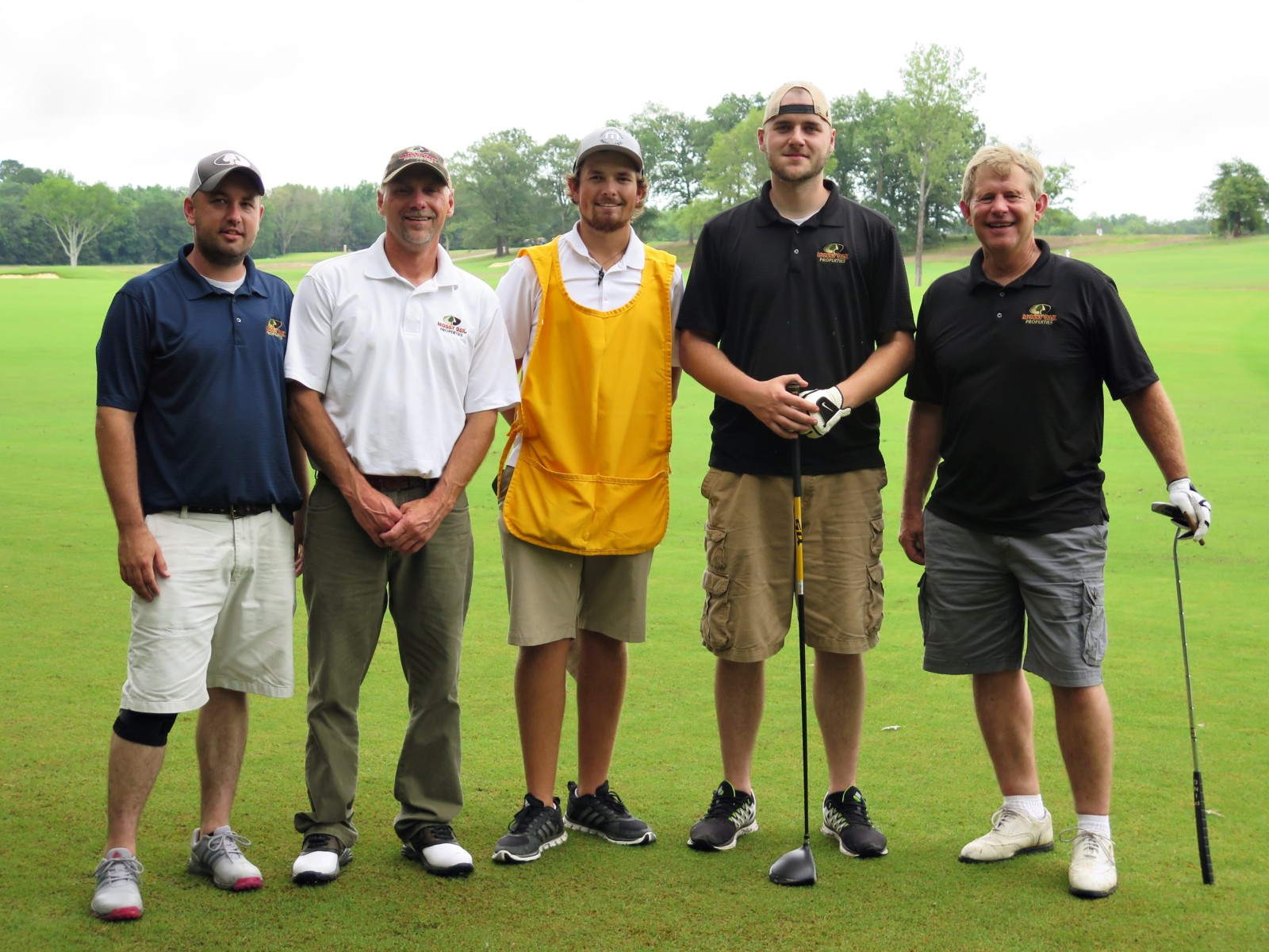 golf team at Mossy Oak Properties Charity Golf Tournament