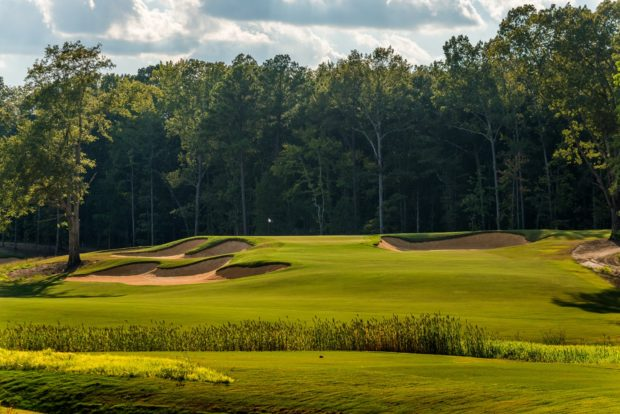golf course at Mossy Oak Properties Charity Event