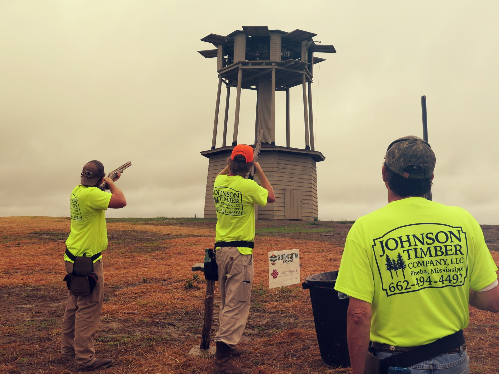 tower shoot at sporting clays