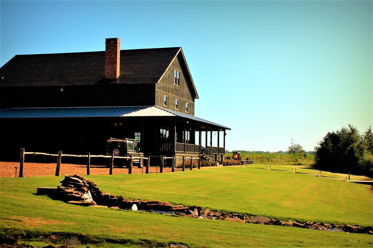 Lodge at prairie wildlife