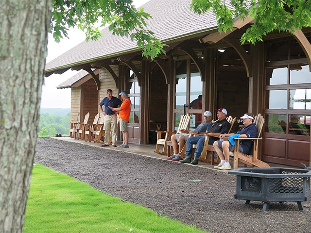golf tournament lodge at Mossy Oak Properties Charity Golf Tournament