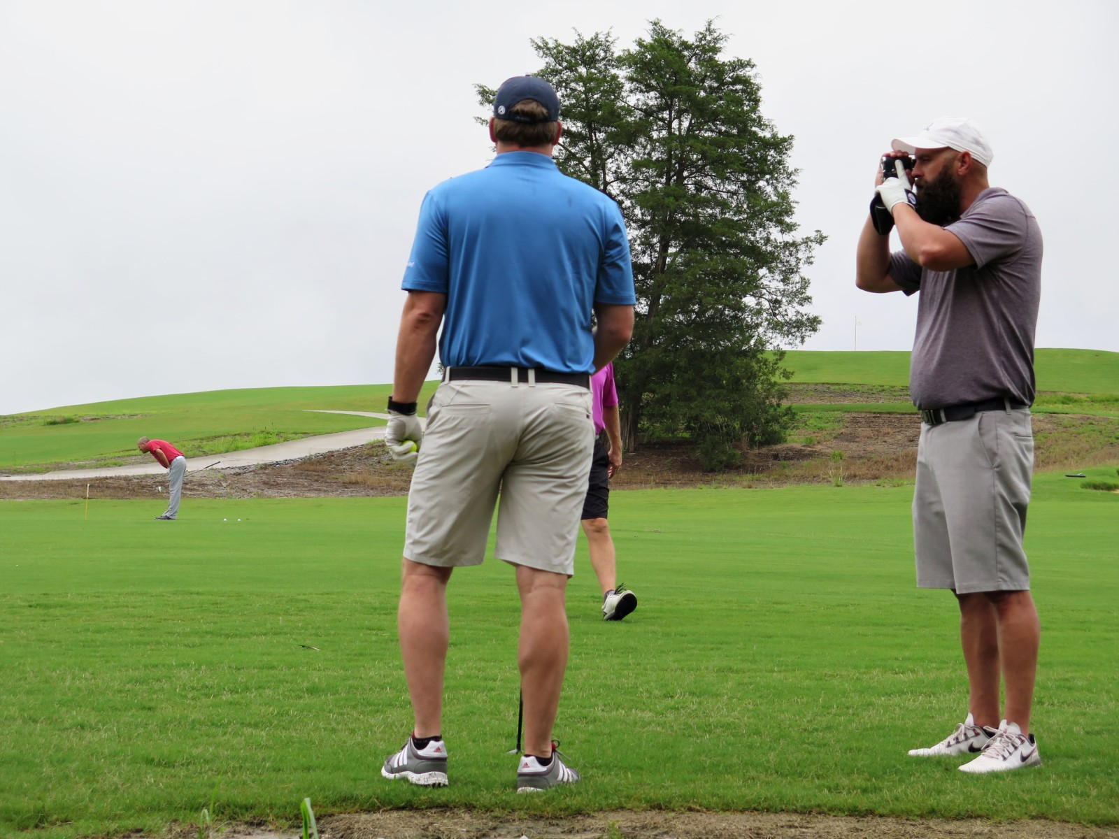 golfers in golf tournament at Mossy Oak Properties Charity Golf Tournament