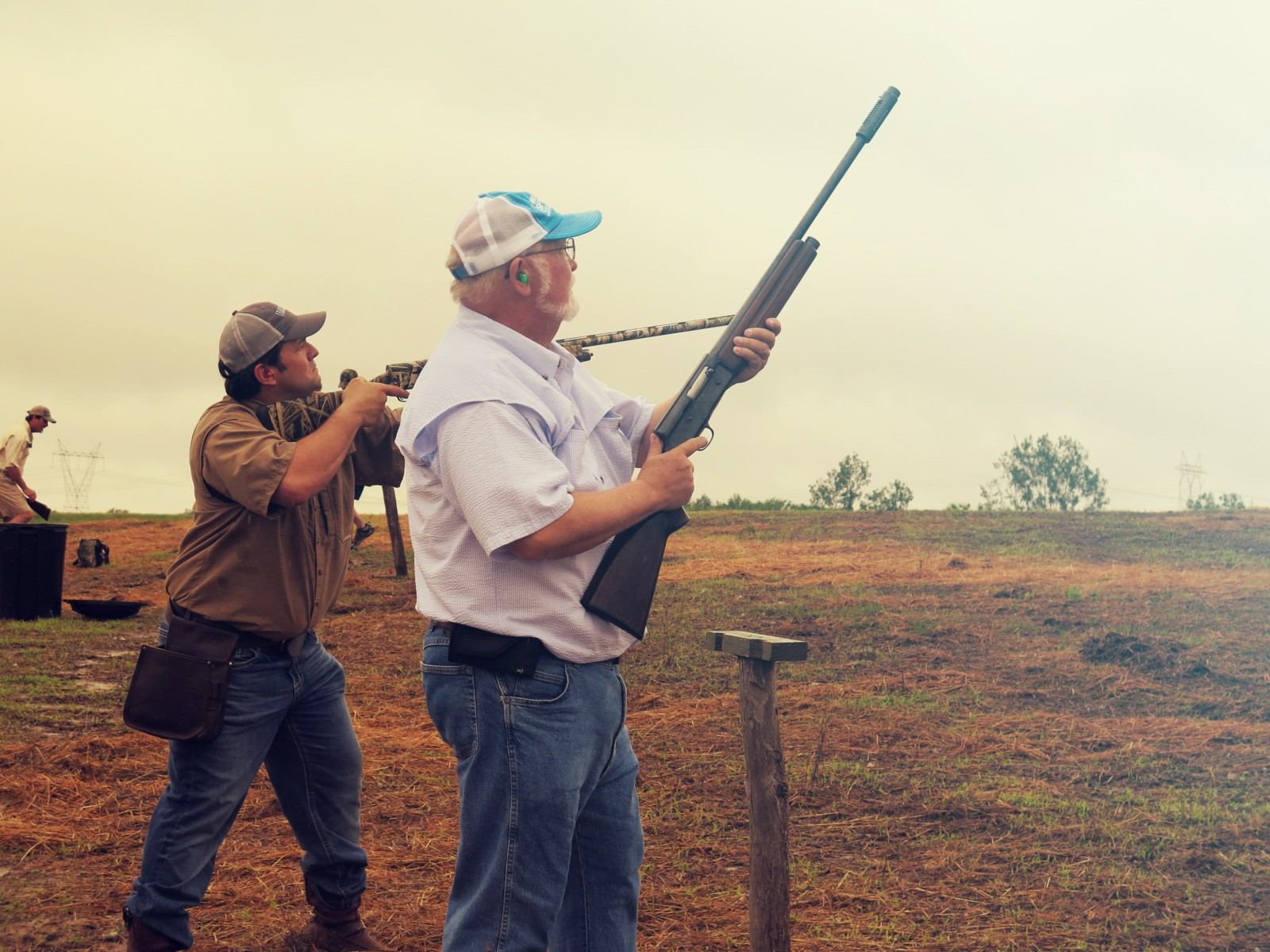hunters at Prairie Wildlife Farms