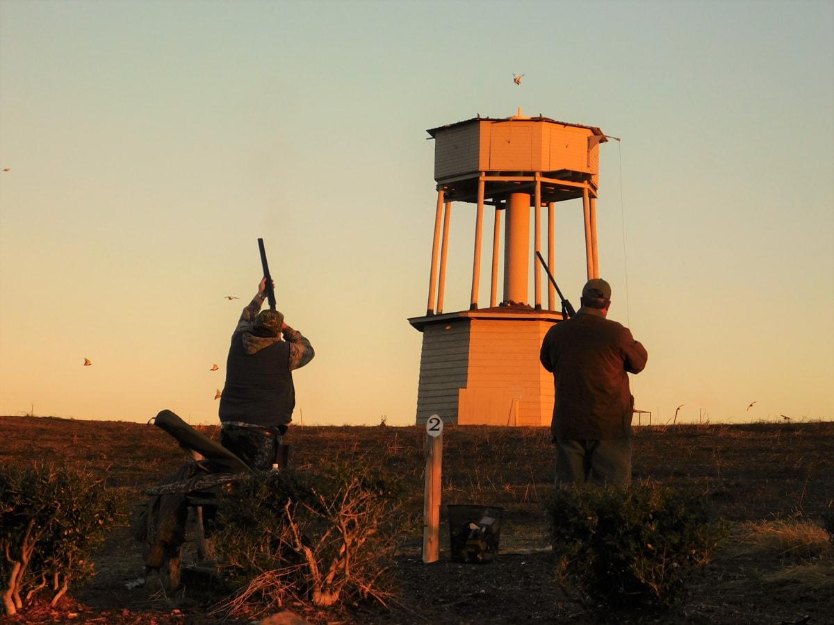 tower shoot at Prairie Wildlife Farms